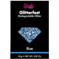 Sleek MakeUP Glitterfest Biodegradable Glitter   Blue 10g