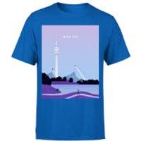 Munich Men's T-Shirt - Royal Blue - XXL - Royal Blue