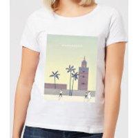 Marrakech Women's T-Shirt - White - S - White