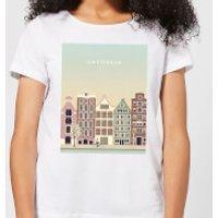 Amsterdam Women's T-Shirt - White - S - White