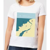 North Sea Women's T-Shirt - White - XXL - White