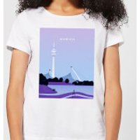 Munich Women's T-Shirt - White - L - White