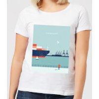 Hamburg Women's T-Shirt - White - M - White