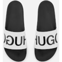 HUGO Men's Timeout Sliders - Open White - UK 11 - White