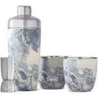 S'well Blue Granite Barware Set