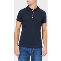 Diesel Men's T-Heal Broken Polo Shirt - Total Eclipse - XL - Blue