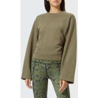 Varley-Womens-Weymouth-Sweatshirt-Olive-S-Green