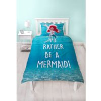 Little Mermaid Shellfie Duvet Set - Single