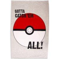 Pokemon Pokeball Fleece Blanket - Pokemon Gifts