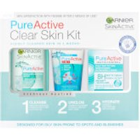Garnier Pure Active Anti Blemish Skincare Regime Kit