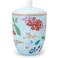 Pip Studio Hummingbird Storage Jar - Blue