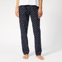 Tommy Hilfiger Womens Logo Woven Pants - Blue - S - Blue