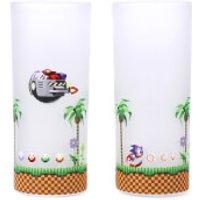 Sonic The Hedgehog Glasses - Set of 2