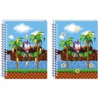 Sonic The Hedgehog A5 Lenticular Notebook