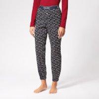 Calvin Klein Womens Lounge Pants - Blue - L - Blue