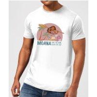 Moana Read The Sea Men's T-Shirt - White - 5XL - White - Read Gifts