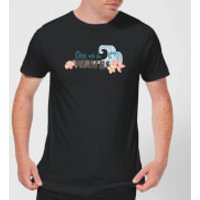 Moana One with The Waves Men's T-Shirt - Black - 3XL - Black
