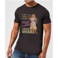 Disney Moana Natural Born Navigator Men's T-Shirt - Black - 5XL - Black