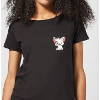 Moana Pua The Pig Women's T-Shirt - Black - S - Black