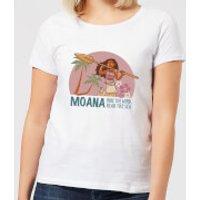 Moana Read The Sea Women's T-Shirt - White - 5XL - White - Read Gifts