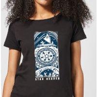 Moana Star Reader Women's T-Shirt - Black - S - Black