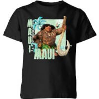 Moana Maui Kids' T-Shirt - Black - 11-12 Years - Black