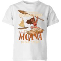 Image of Moana Find Your Own Way Kids' T-Shirt - White - 7-8 Years - White