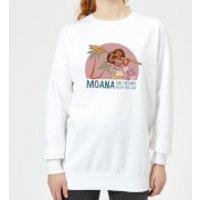 Moana Read The Sea Women's Sweatshirt - White - 5XL - White - Read Gifts