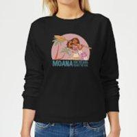 Moana Read The Sea Women's Sweatshirt - Black - 5XL - Black - Read Gifts