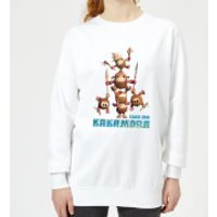Moana Fear The Kakamora Women's Sweatshirt - White - M - White