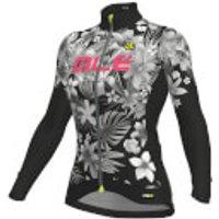 Alé Women's PRR Sartana Micro Jersey - M - Black/Pink