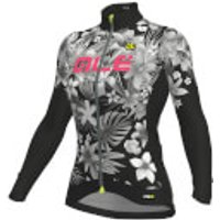Alé Women's PRR Sartana Micro Jersey - L - Black/Pink