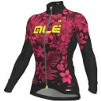 Alé Women's PRR Sartana Micro Jersey - M - Black/Pink/Yellow