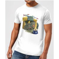 Disney Dumbo Circus Men's T-Shirt - White - M - White