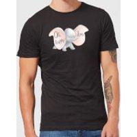 Dumbo Happy Day Men's T-Shirt - Black - S - Black