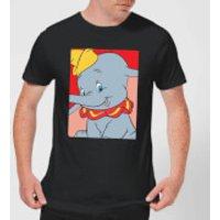 Dumbo Portrait Mens T-Shirt - Black - 4XL - Black