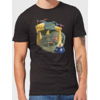 Disney Dumbo Circus Men's T-Shirt - Black - 5XL - Black