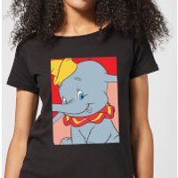 Dumbo Portrait Women's T-Shirt - Black - XXL - Black