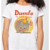 Dumbo Flying Elephant Women's T-Shirt - White - XS - White