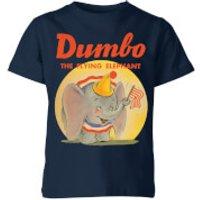 Dumbo Flying Elephant Kids' T-Shirt - Navy - 9-10 Years - Navy