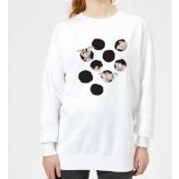 Dumbo Peekaboo Women's Sweatshirt - White - XXL - White