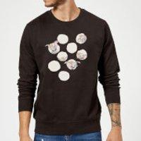 Dumbo Peekaboo Sweatshirt - Black - S - Black