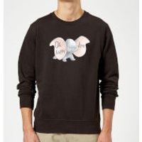 Dumbo Happy Day Sweatshirt - Black - S - Black