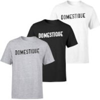 Domestique Men's T-Shirt - S - Black