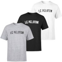 Le Peloton Men's T-Shirt - Black - M - White