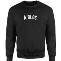 A Bloc Sweatshirt - XL - White