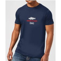 Plain Lazy Codfather Mens T-Shirt - Navy - XXL - Navy