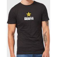 Plain Lazy Employee Of The Month Men's T-Shirt - Black - XXL - Black