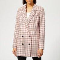 Gestuz Women's Obia Blazer - Red/Pink/White - EU 40/UK 12 - Multi
