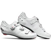 Sidi Ergo 5 Road Shoes - White/White - EU 42 - White/White